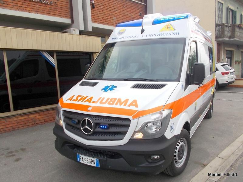 Mercedes Sprinter Ambulanza