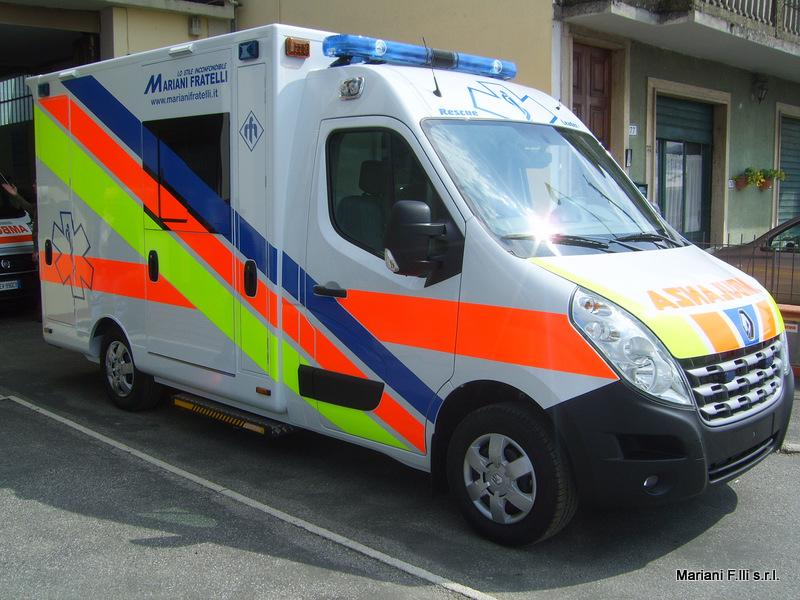 Renault Master Ambulanza Cellula su pianale