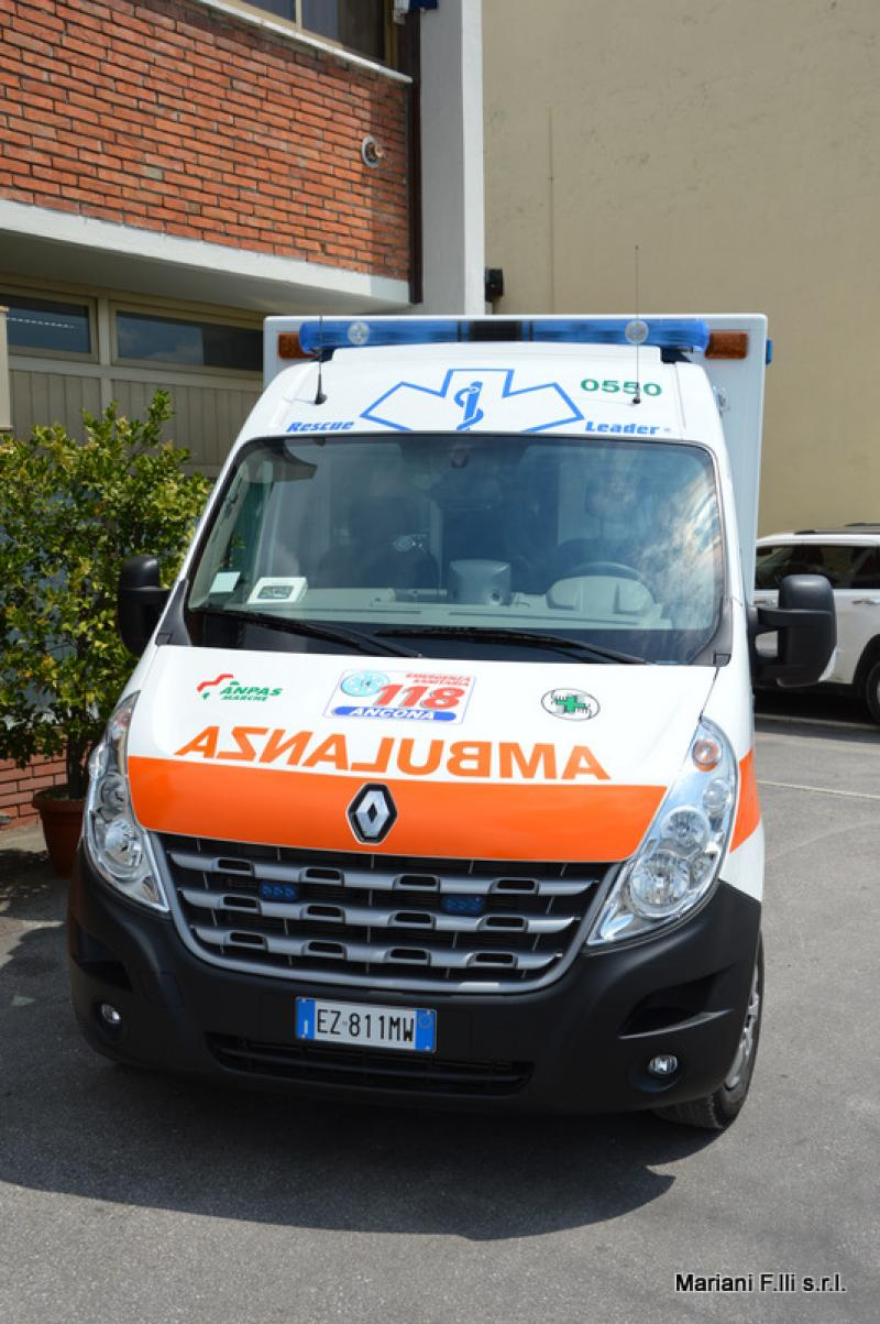 Renault Master Ambulanza Cellula su pianale B