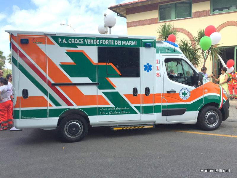 Renault Master Ambulanza Cellula su pianale C