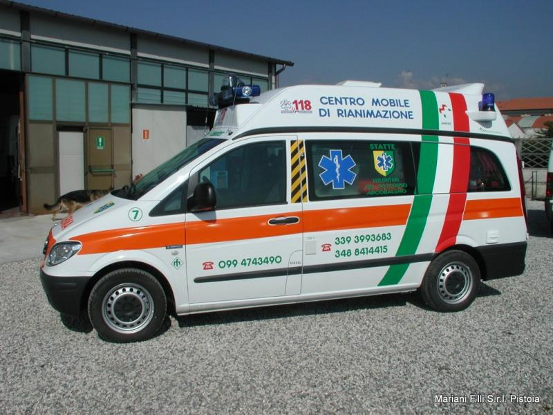 Ambulanza su Mercedes Vito